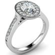 Oval Cut Tiffany Legacy Style Engagement Ring Image
